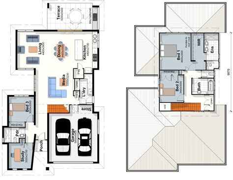 blueprints for new homes the hton house plan