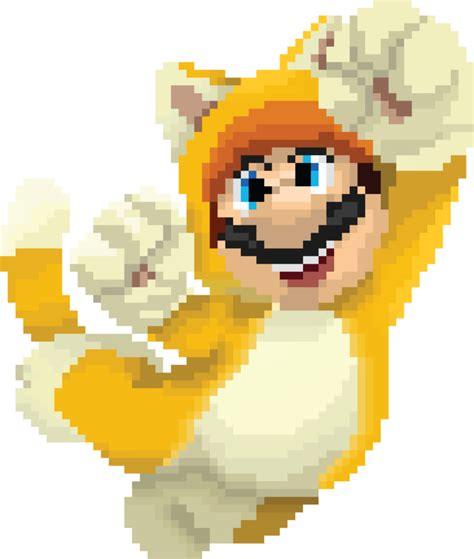 super mario pixel art by sullyvancraft on deviantart cat mario pixel recreation by djtoast3 on deviantart