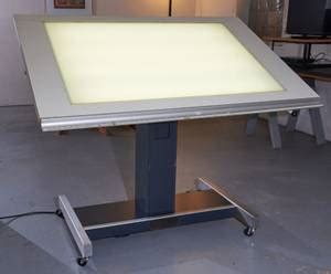 backlit drafting table drafting table hamilton for sale classifieds