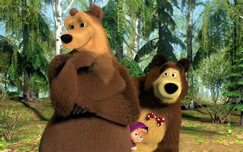 wallpaper animasi masha and the bear 19 hd masha and the bear wallpapers hdwallsource com
