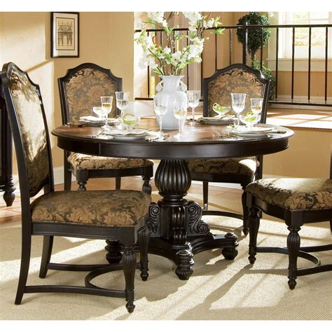 round black dining room table elegant classic round dining room table design ideas