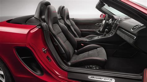 porsche boxster interior automotivetimes com porsche cayman and boxster gts set