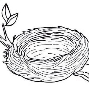 Coloring Page Nest by Nest Clipart Coloring Pencil And In Color Nest Clipart