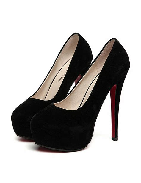 high heels black pumps high heels black suede look high heels