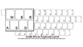 keyboard layout south africa south african language keyboard labels
