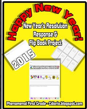 biography flip book project new year s resolution response and flip book project tpt