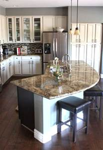 Curved Kitchen Islands 25 Best Ideas About Kitchen Island On Curved Kitchen Island Kitchen Islands