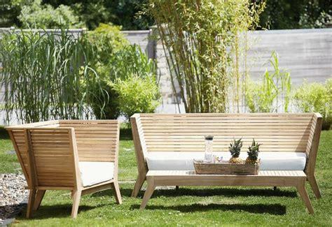 Gartenbank Aus Stein Und Holz
