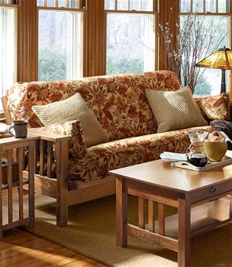 ll bean slipcovers mission futon futons at l l bean home sweet home