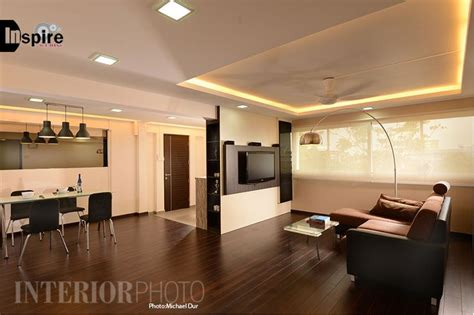 Interior Design For Hdb 5 Room Flat by Simei 5 Room Flat Hdb Home Interior Kitchen Living