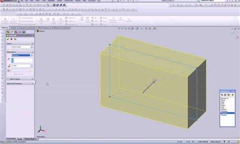 solidworks tutorial extrude solidworks tutorials features extrude and draft youtube