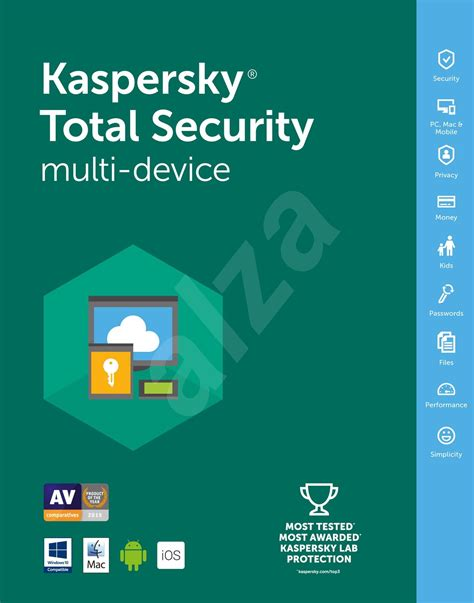 Kaspersky Total Security 2016 5 Devices Diskon E License Kaspersky Total Security Multi Device 2016 For 5