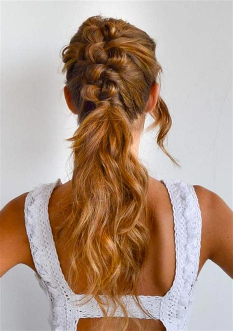 braids that lead into a ponytail 100 ridiculously awesome braided hairstyles to inspire you
