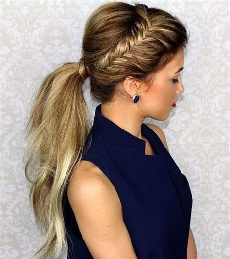 Ponytail Hairstyles by 10 Easy Ponytail Hairstyles Hair Style Ideas 2018