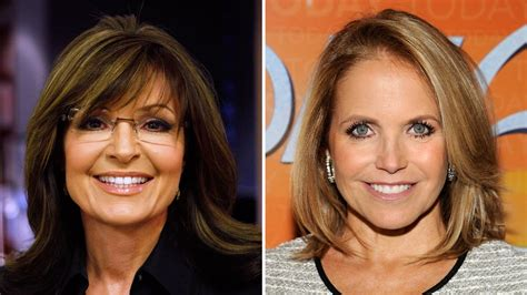katie couric palin sarah palin on today vs katie couric on gma are they