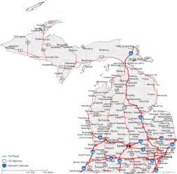 Detailed Map Of Michigan by Map Of Michigan Related Keywords Amp Suggestions Map Of