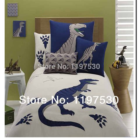 Dinosaur Quilt Cover by Free Shipping Animals Embroidered Dinosaur Flat Sheet