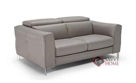 Natuzzi Leather Power Reclining Sofa by Como B900 Leather Loveseat By Natuzzi Is Fully