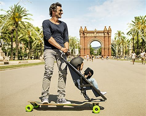 designboom quinny quinny longboardstroller is a fresh approach to urban