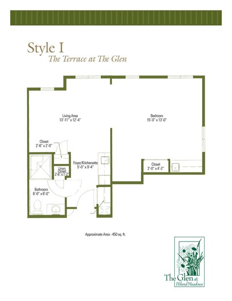 glenridge floor plans floor plans of the terrace at the glen assisted living in queensbury ny