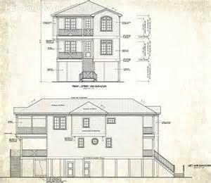 Nc House Plans by North Carolina Custom Beach House Plans Obx