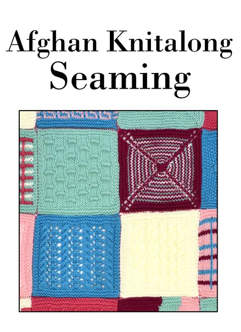 knit along afghan knitalong seaming universal yarn creative network