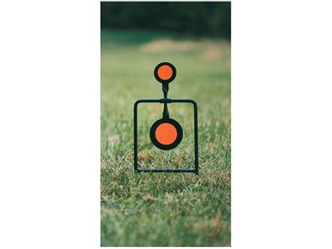 steel swinging targets caldwell plink n swing swinging target twin spin 45 cal