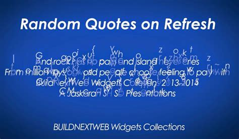 blogger quotes random quotes on refresh widget for blogger websites