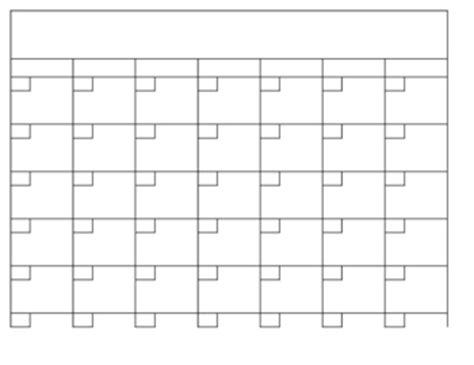 free printable calendar templates | print blank calendars