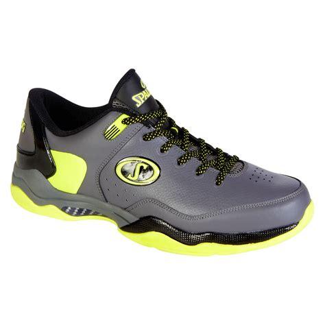 spalding basketball shoe mens basketball shoe breakout low blackwhite