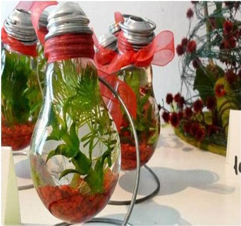 home decor idea with recycled design for home recycled light bulbs recycled things