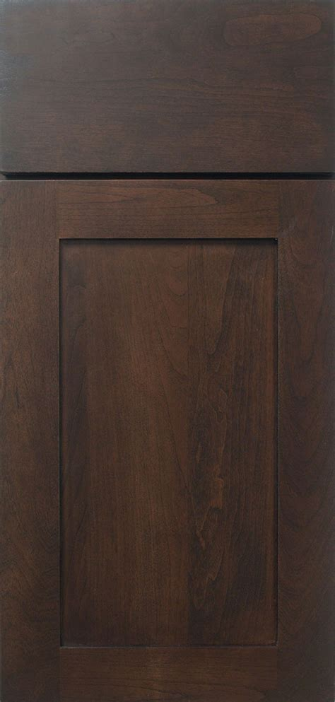 Truffle Dark Brown Cabinet Stain on Cherry   Omega