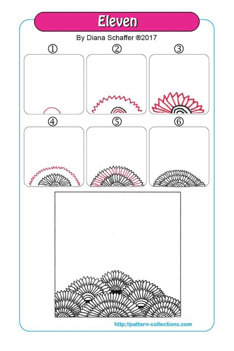 zentangle pattern wadical 1670 best art tangle names and step instructions images