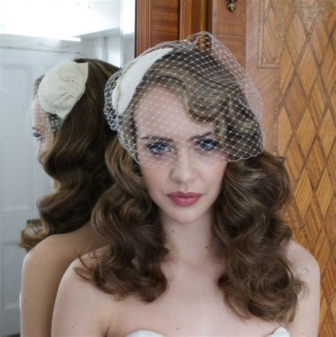 Wedding Hair For Birdcage Veil by Flowy Hair And A Birdcage Veil Is This Possible