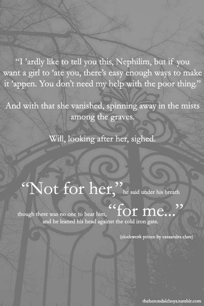 """""""No,"""" Will said, a little desperation in his voice. """"I was"""