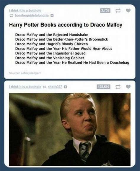j k rowling s version of quot harry potter quot according to draco malfoy is absolutely hilarious