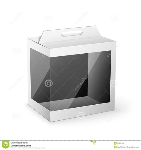 product packaging templates white product package box mock up template stock vector