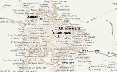map of guadalajara guadalajara location guide