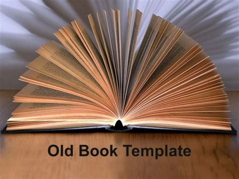 old book powerpoint template