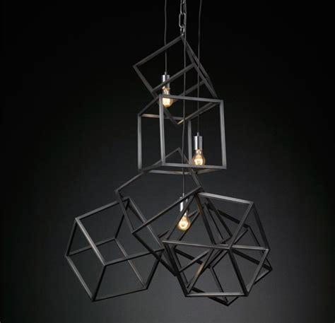 cube pendant light the of suspended lighting