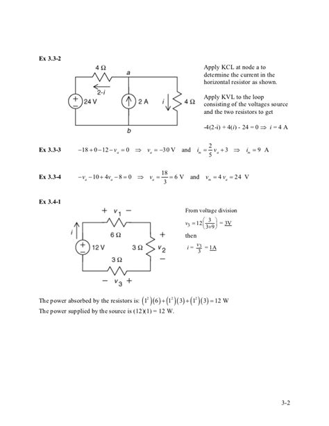 current through inductor at t 0 solution manual for introduction to electric circuits