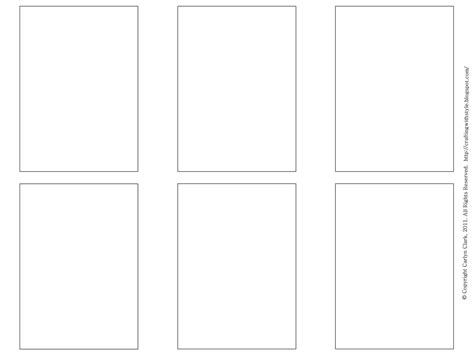 Blank Standard Card Template by Crafting With Style Free Atc Templates And Artwork For Atc S