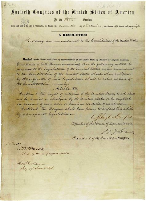 15th Amendment Section 2 by The 14th Amendment To The United States Constitution