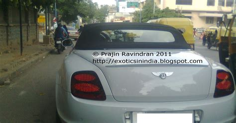 bentley bangalore exotics in india bentley continental supersports