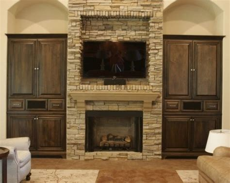 cabinet for tv over fireplace 75 best images about for the home tv fireplace combo on