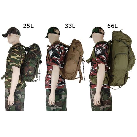 new army rucksack waterproof army rucksack backpack pro combat cadet