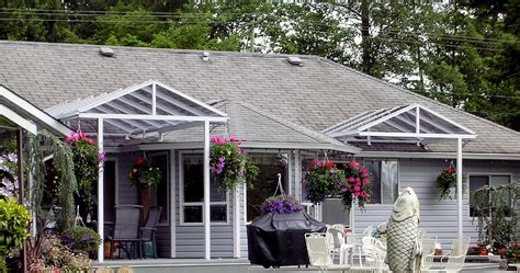 Patio Windbreak Awning Custom Canopies Clear Choice Glass Construction