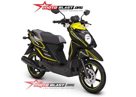 Striping Yamaha X Ride Inter Milan motoblast a motorcycle inspiration site