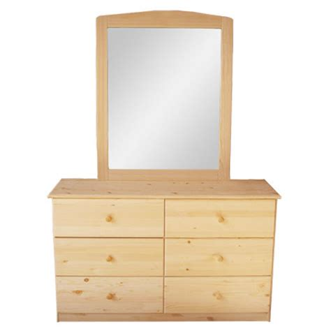 wood bedroom dresser wooden 6 drawer dresser natural youth bedroom furniture