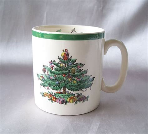 spode christmas tree mug from colemanscollectibles on ruby